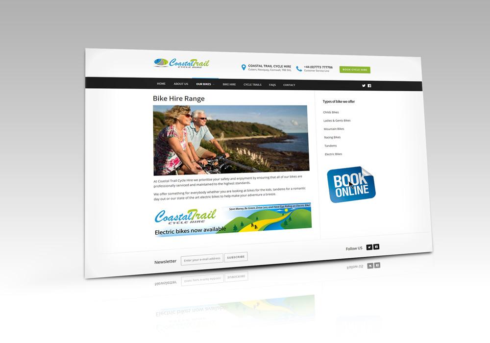 Coastal Trail Cycle Hire Newquay Cornwall